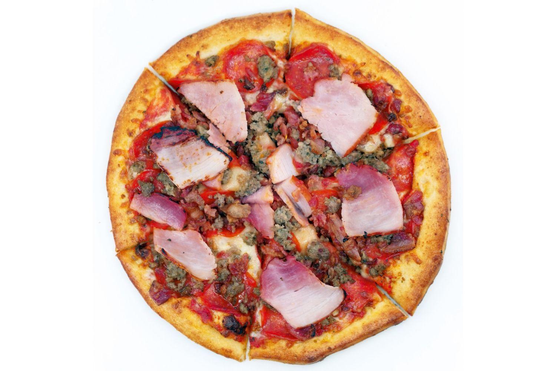 Pizza White Background