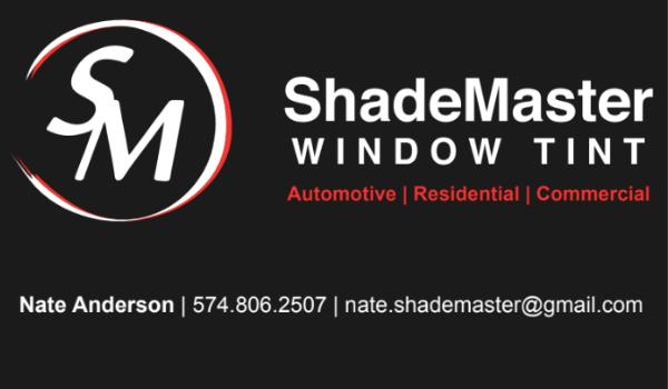 ShadeMaster Window Tint Print Piece