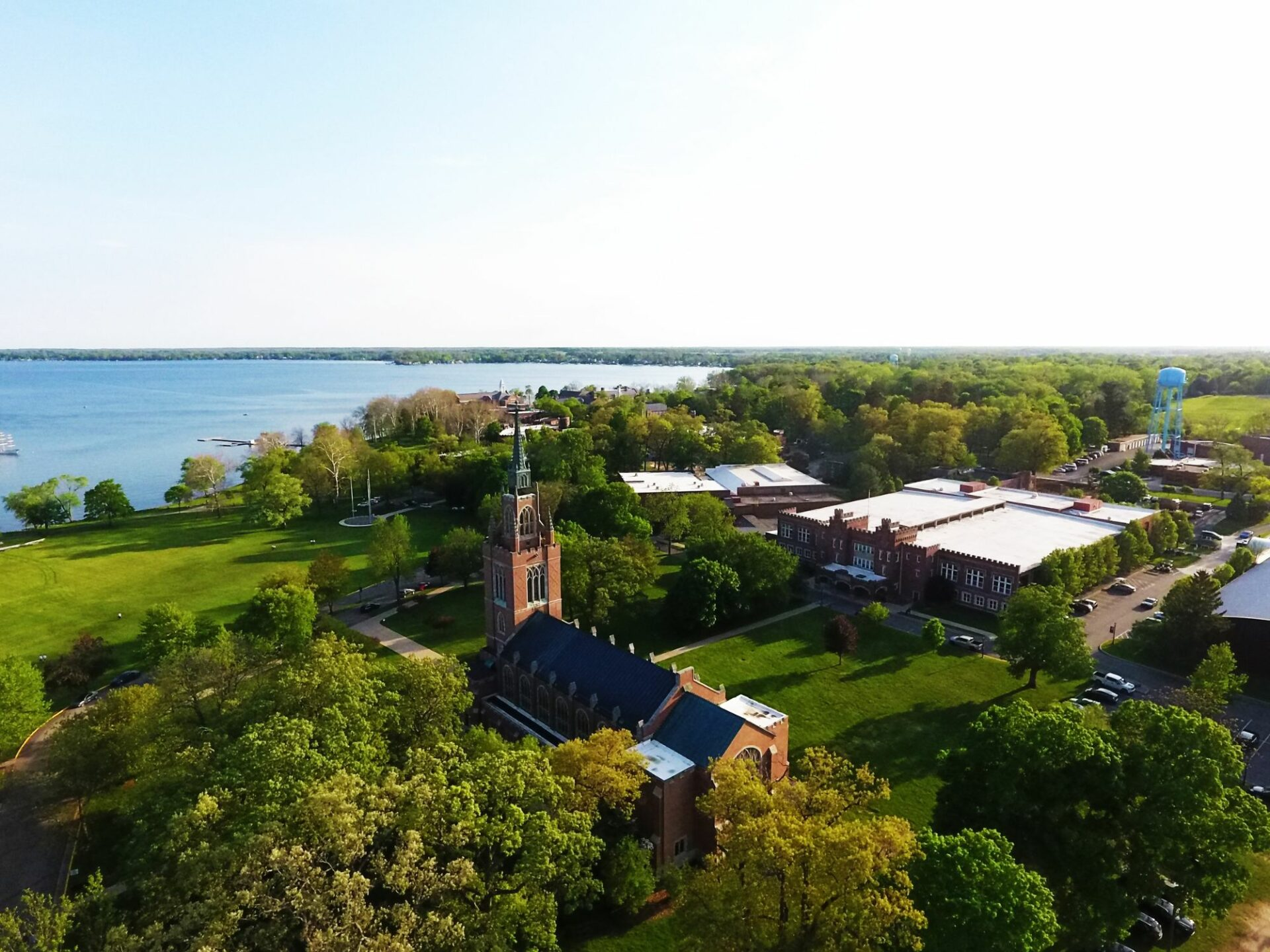 Culver Military Academy Drone Shot Small