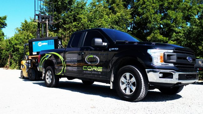 Example of Vehicle Wrap