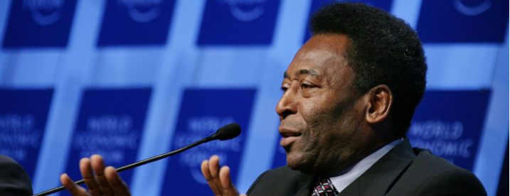 Pele's son sentenced to 33 years in jail for money laundering.