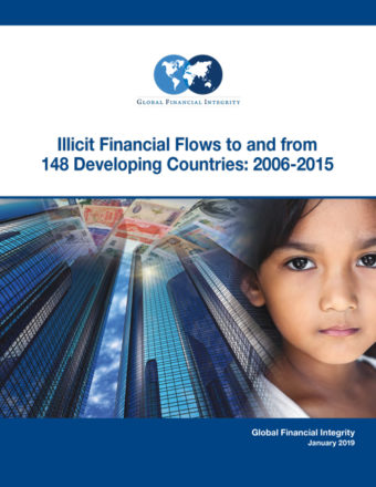 Kết quả hình ảnh cho Illicit Financial Flows to and from 148 Developing Countries: 2006-2015