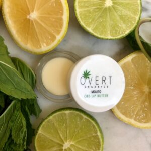 Mojito Lip Butter, mojito, CBD, organic, lip balm, balm, natural beauty,
