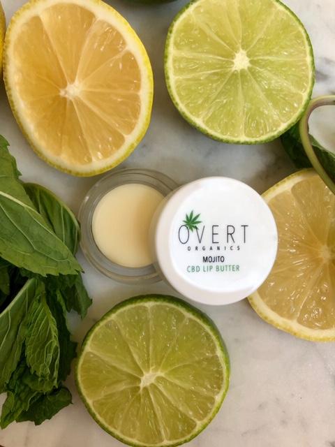 Mojito Lip Butter, mojito, CBD, organic, lip balm, balm, natural beauty,