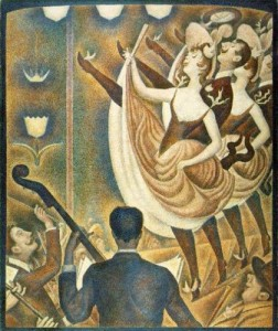 """""""Le Chahut"""", 1889-90, by George Seurat"""