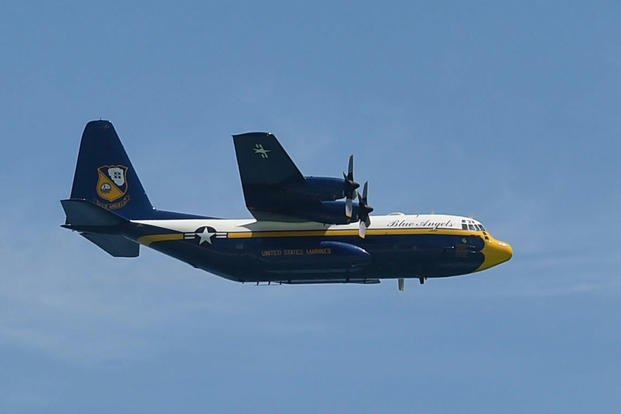 Blue Angels' Fat Albert Flies Again After Yearlong Grounding