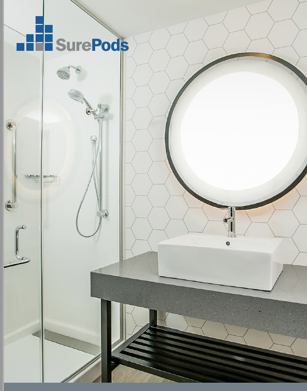 SurePods Brochure - bathroom pod resources