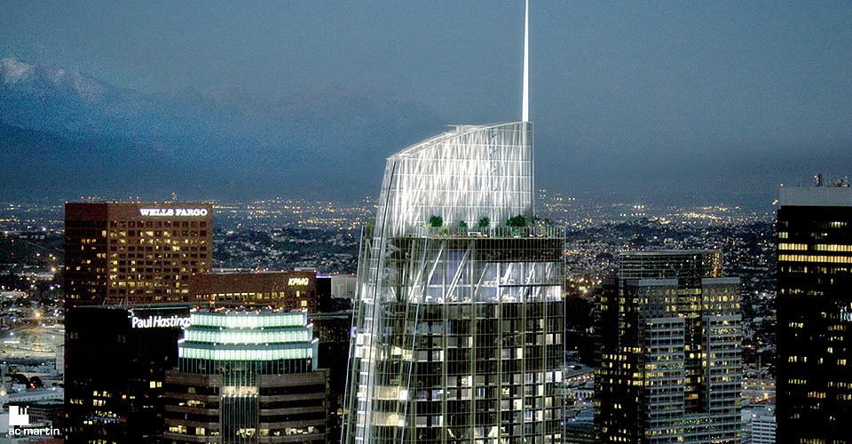 wilshire grand a feat of engineering