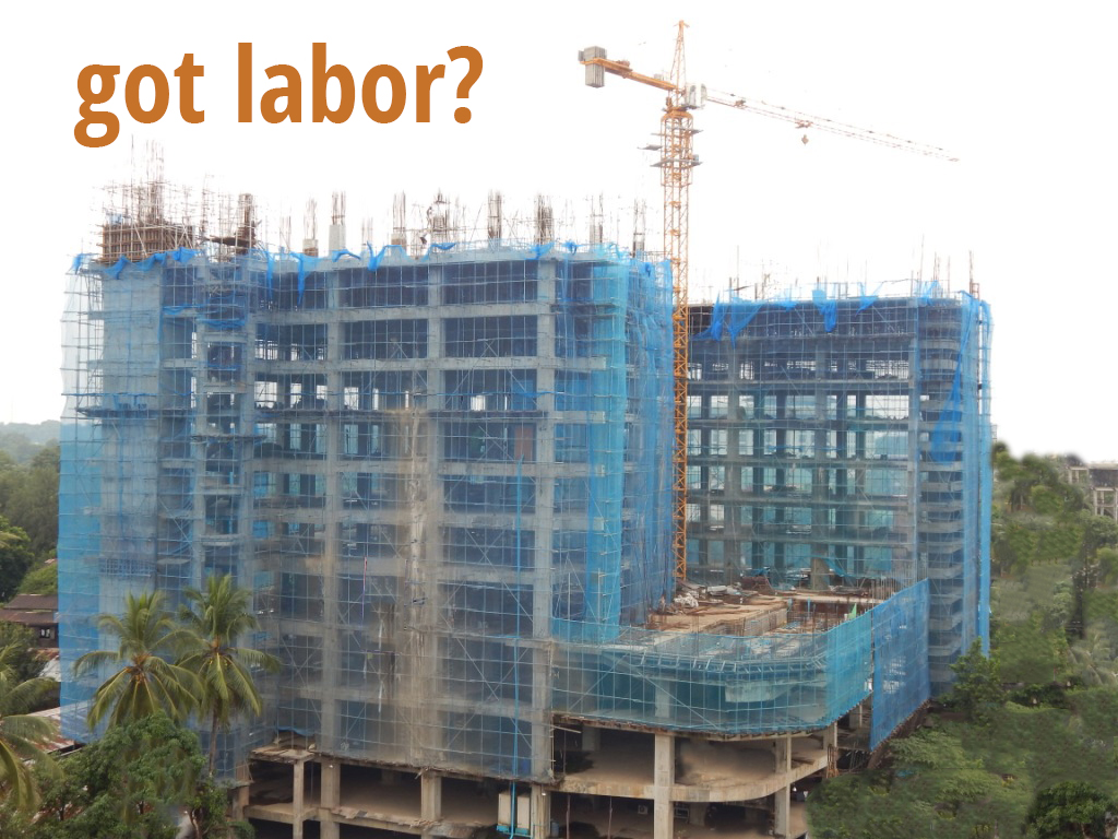no construction site workers