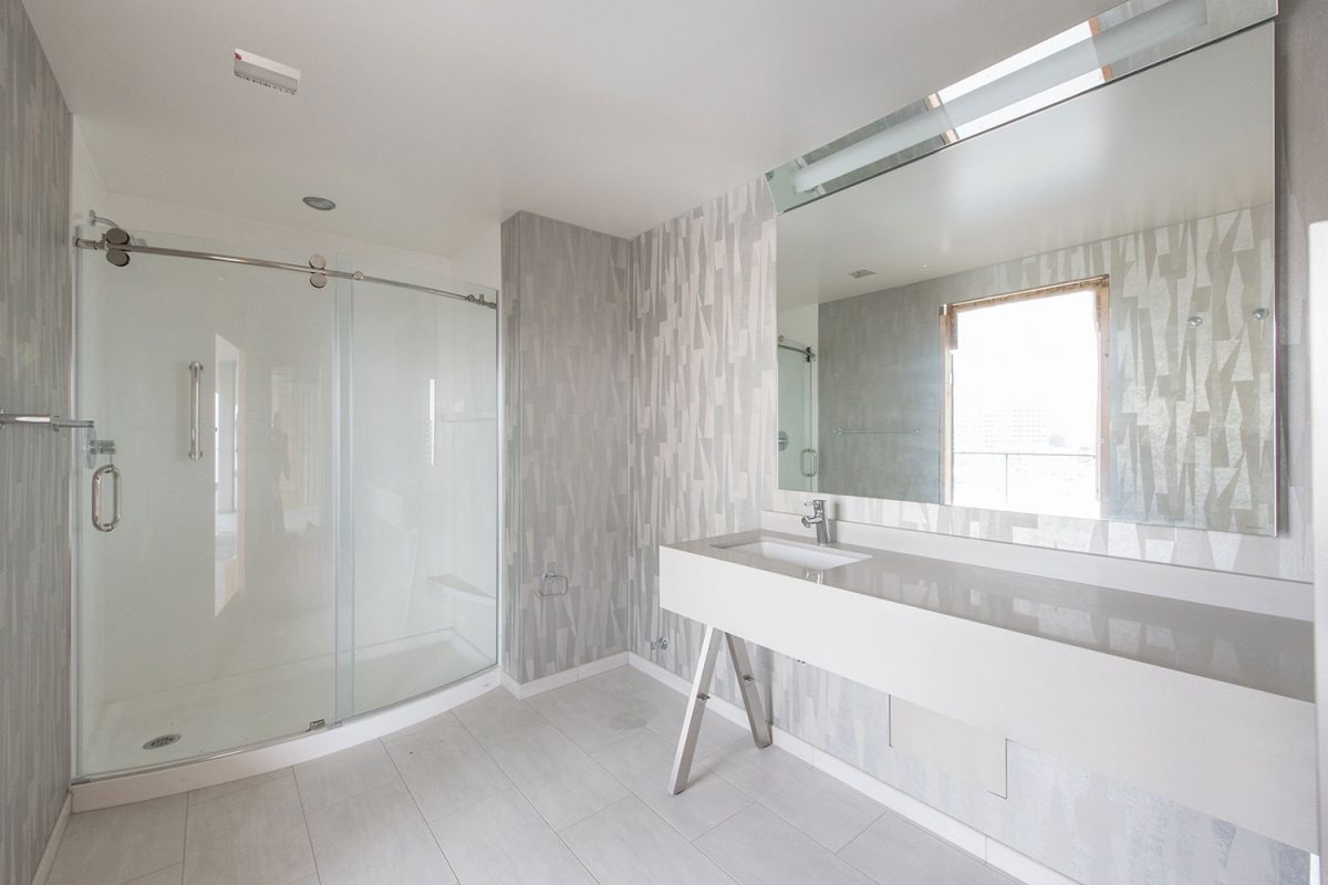 Embassy Suites Prefab Bathroom by SurePods
