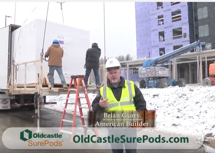 American Builder SurePods install video