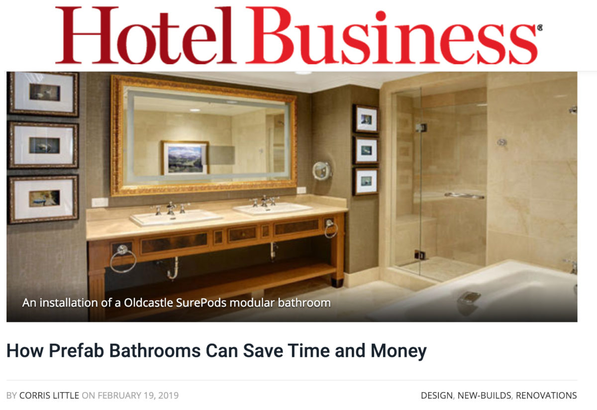 Prefab Bathrooms Can Save Time and Money
