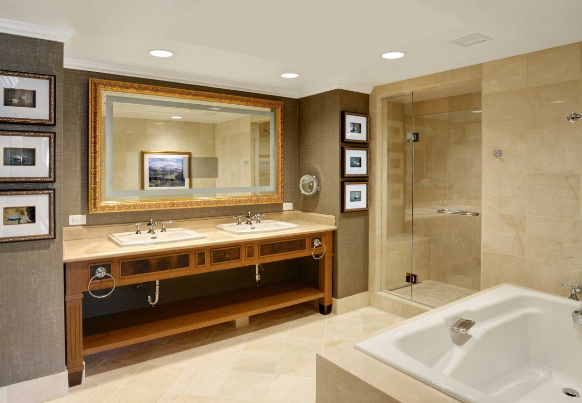 Broadmoor Hotel Prefab Bathroom Pod
