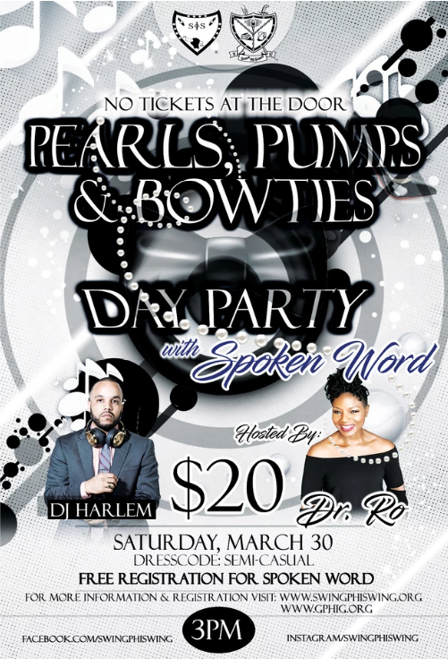 Pearls, Pumps & Bowties – Day Party