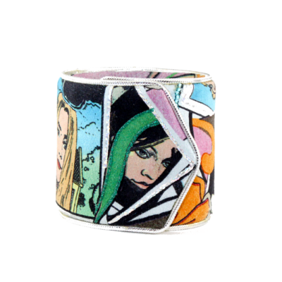 Funny Girl Cartoon Cuff