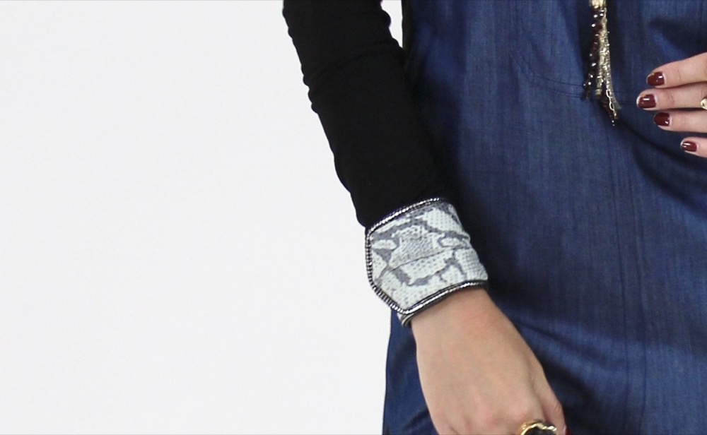 Kate Younger Designs Snakeskin Cuff