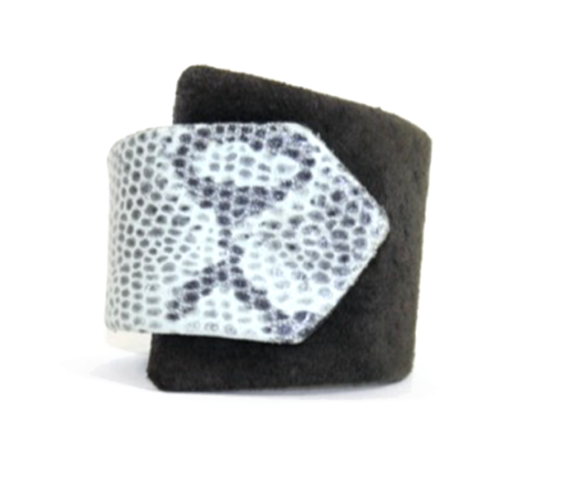 Black & White Braque Cuff