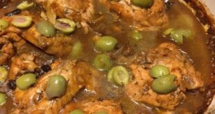 Baked, Not Grilled Moroccan Chicken Because of Rain