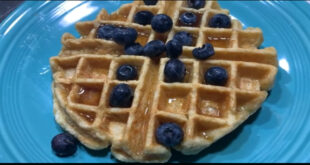 Belgium-Style Gluten-Free Waffles are a terrific and healthy way to start your morning