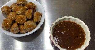 Homemade Teriyaki Meatballs