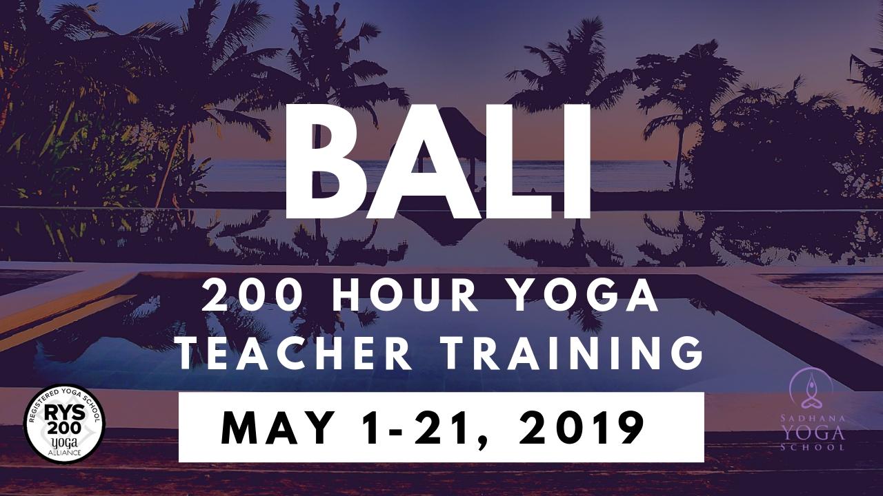 Yoga Teacher Training In Bali