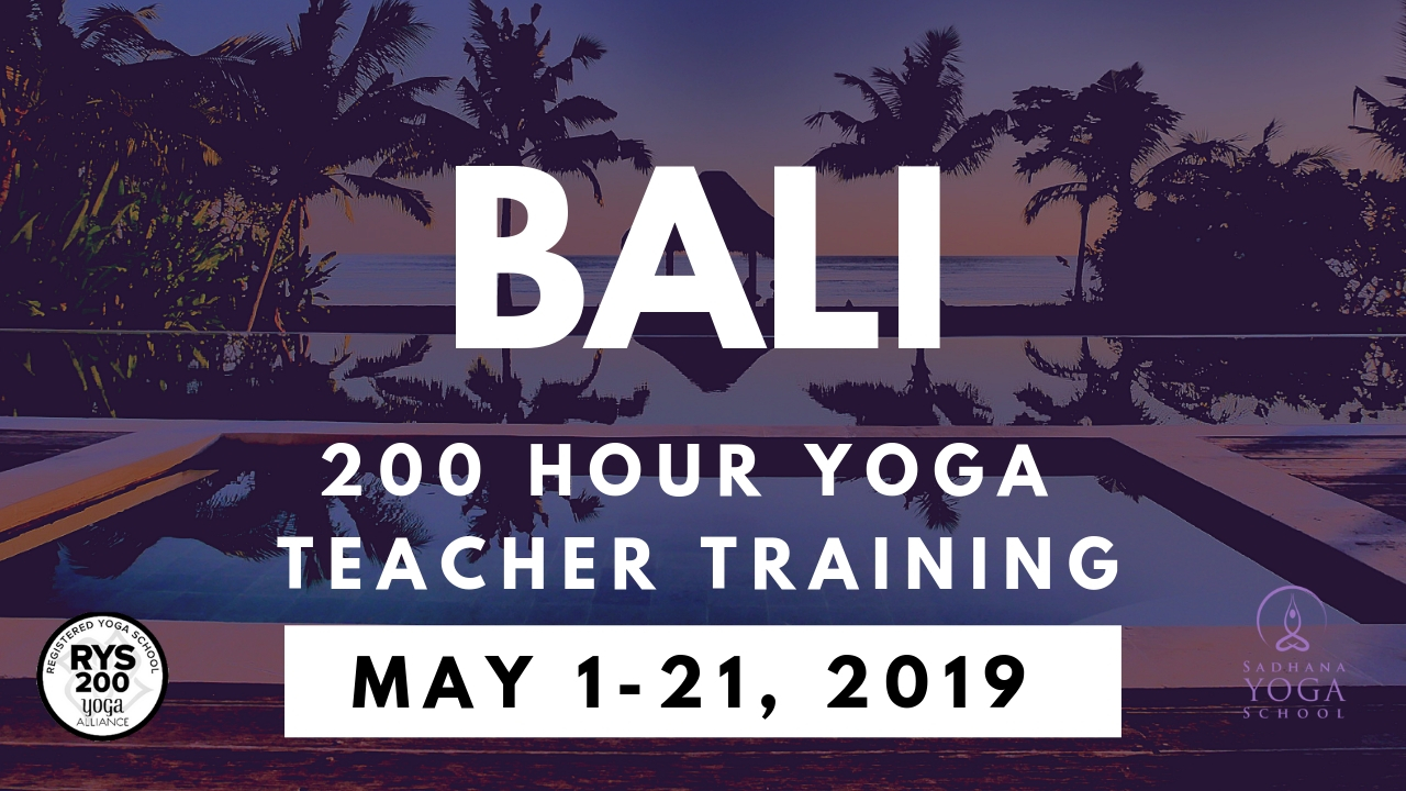 200 Hour Yoga Teacher Training Bali May 1-21, 2021