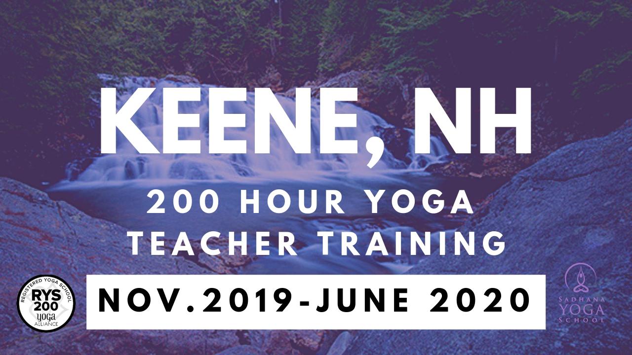 yoga teacher training keene