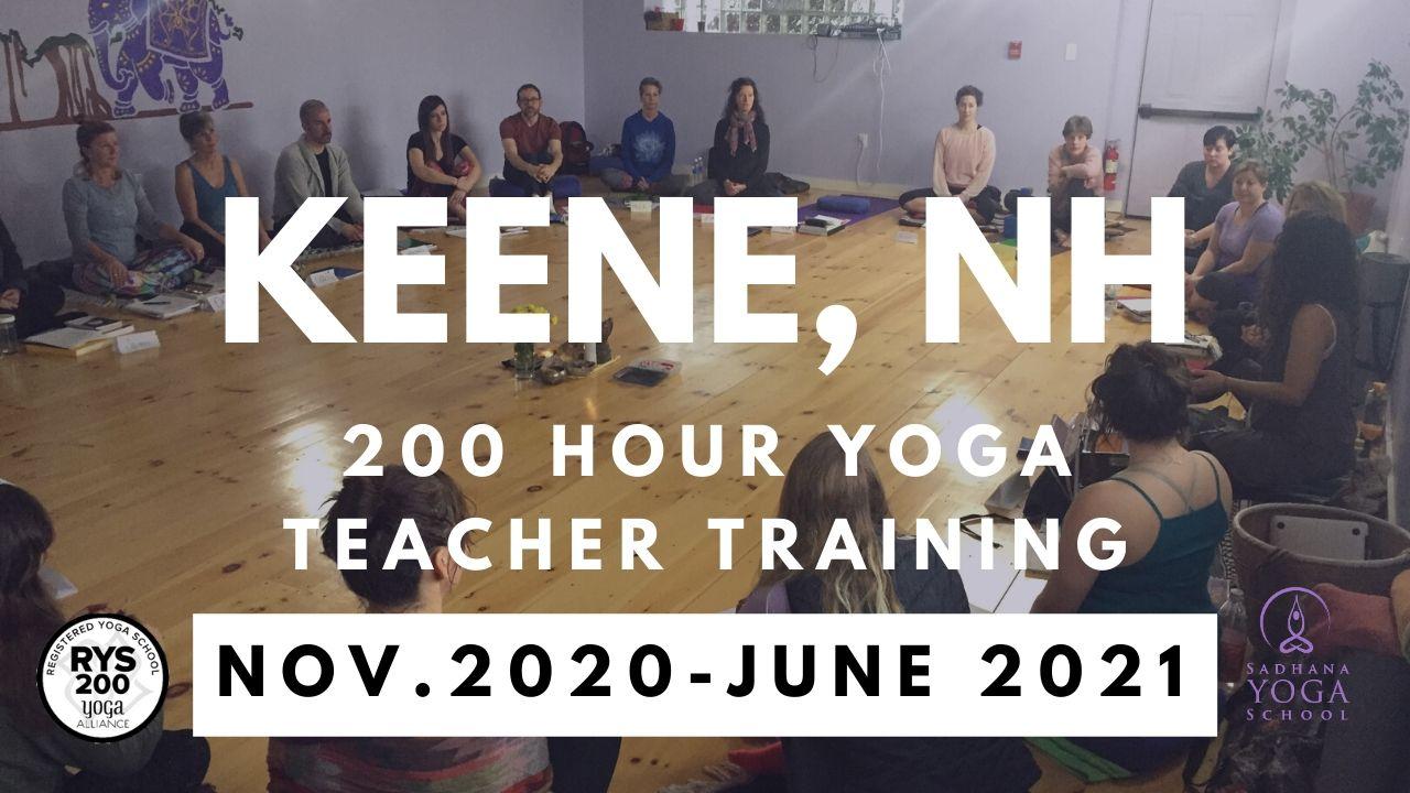 200 Hour Yoga Teacher Training Keene, New Hampshire November 2020-June 2021