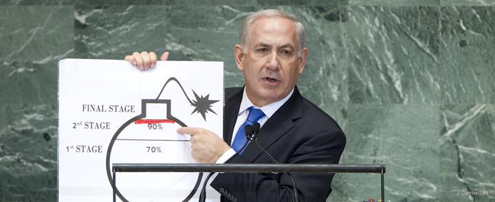 Bibi on bomb