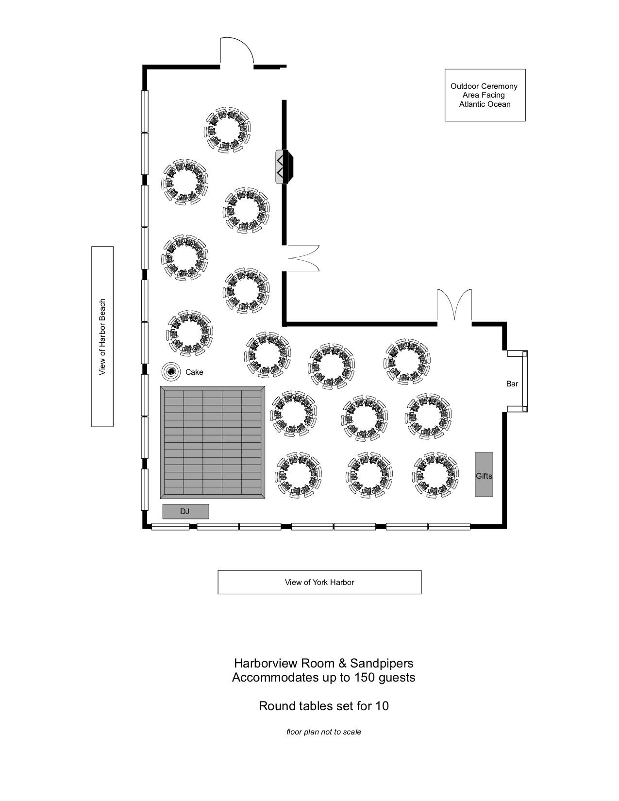 Wedding Floor Plan