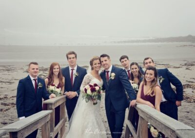 Wedding By The Beach At Stage Neck Inn