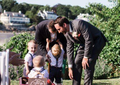 Children At Weddings in York Harbor, ME