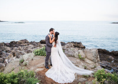 Beach View Wedding In York Harbor, ME