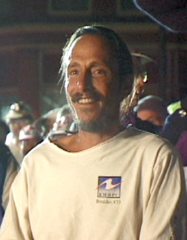 Douglas at start of Leadville Trail 100 race