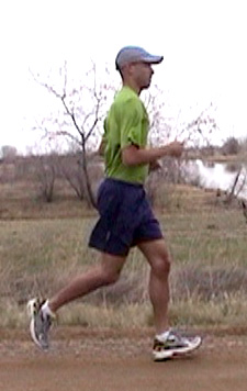 Running form and posture corrected