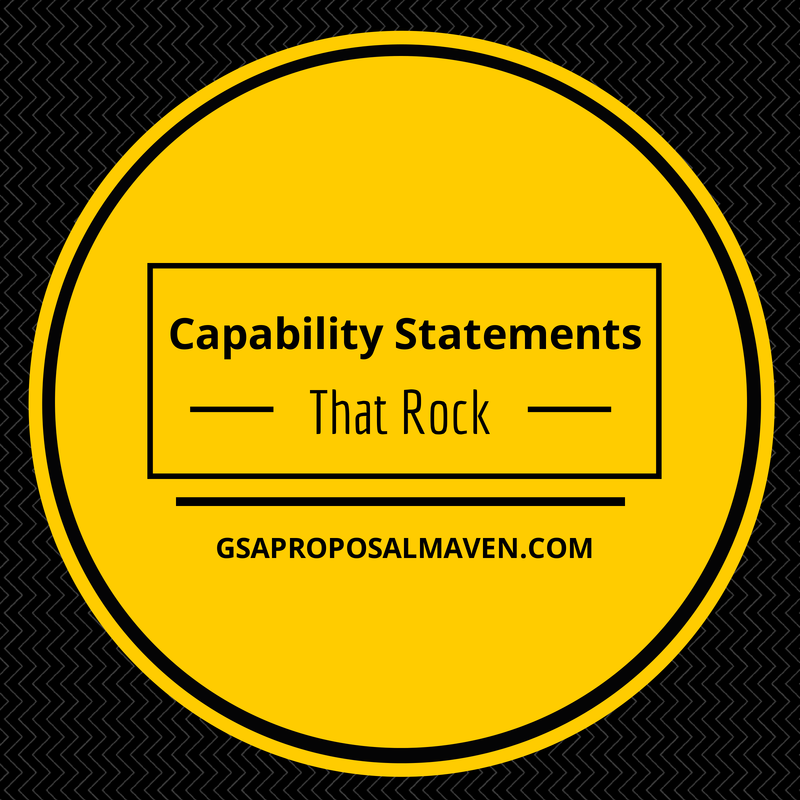 Capability Statements That Rock