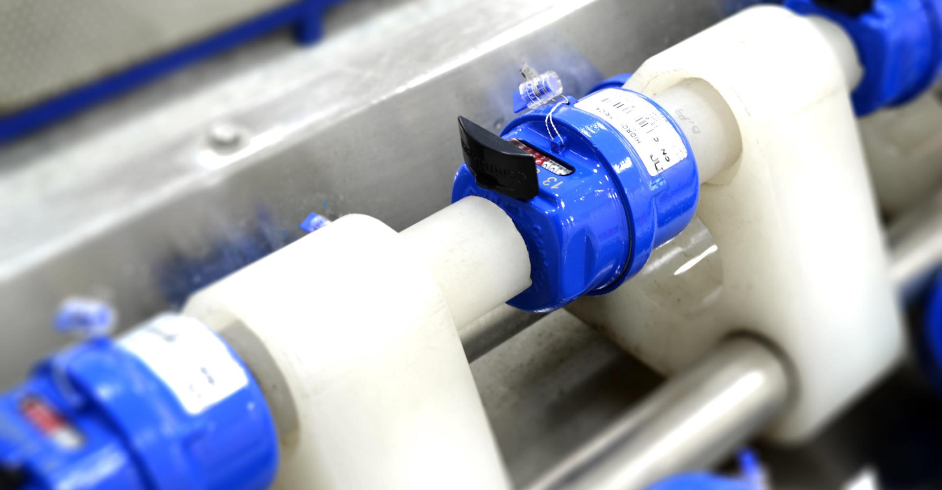 Bancos para calibración de medidoresDiseñados y fabricados en colombia, losbancos de calibración controlagua hansido instalados en varias ciudades del paísy cuentan con certificaciones vigentes.