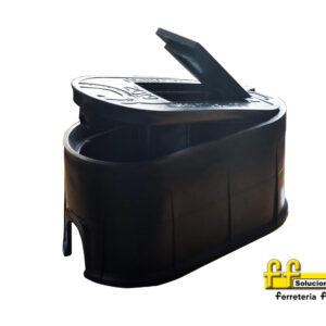 Cajilla Plastica Acuabox con tapa mirilla