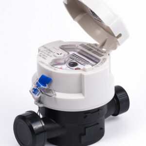 Medidor Velocidad chorro unico R100 1/2″ Preequipado Plastico
