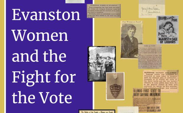 """Evanston Women & the Fight for the Vote"" A presentation by Lori Osborne"