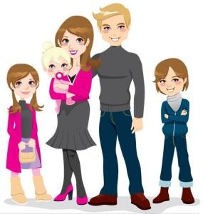 Happy animated family 6-16-15