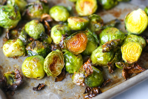 honey butter brussel sprouts
