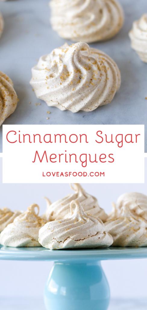 Cinnamon Sugar Meringues