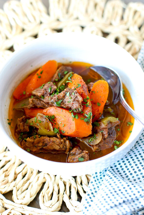 sweet and sour beef stew