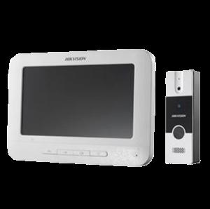 KIT DE VIDEOPORTERO CON PANTALLA LCD A COLOR DE 7″ DS-KIS202