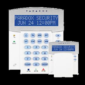 TECLADO LCD CENTRALES PARADOX - K35N3Q