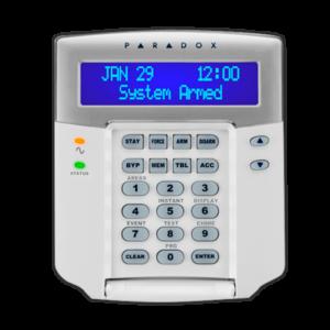 TECLADO LCD PARADOX - K641