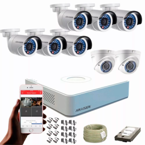 KIT CCTV HIKVISION DVR FULL HD 1080P KIT-6