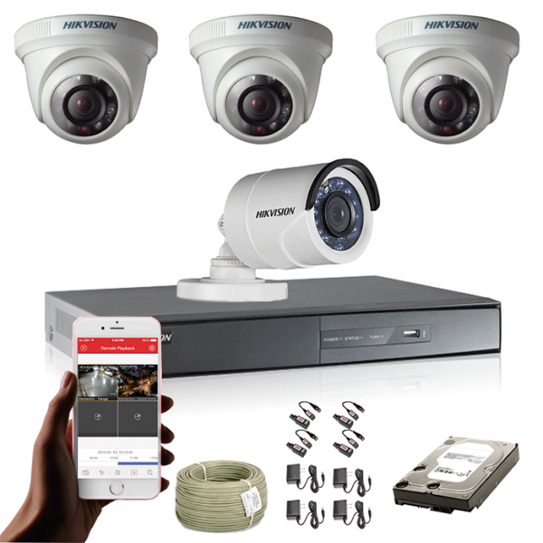 KIT CCTV HIKVISION DVR TURBO HD 720P KIT-8