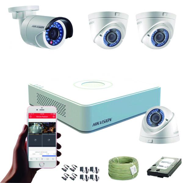 KIT CCTV HIKVISION MINI DVR FULL HD KIT-2